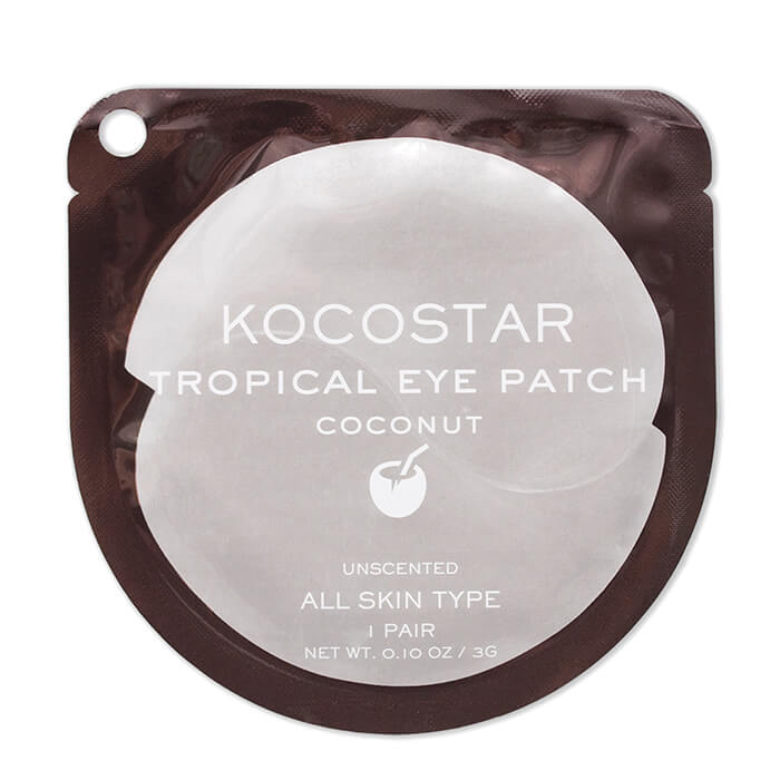 Гидрогелевые патчи Kocostar Tropical Eye Patch Coconut