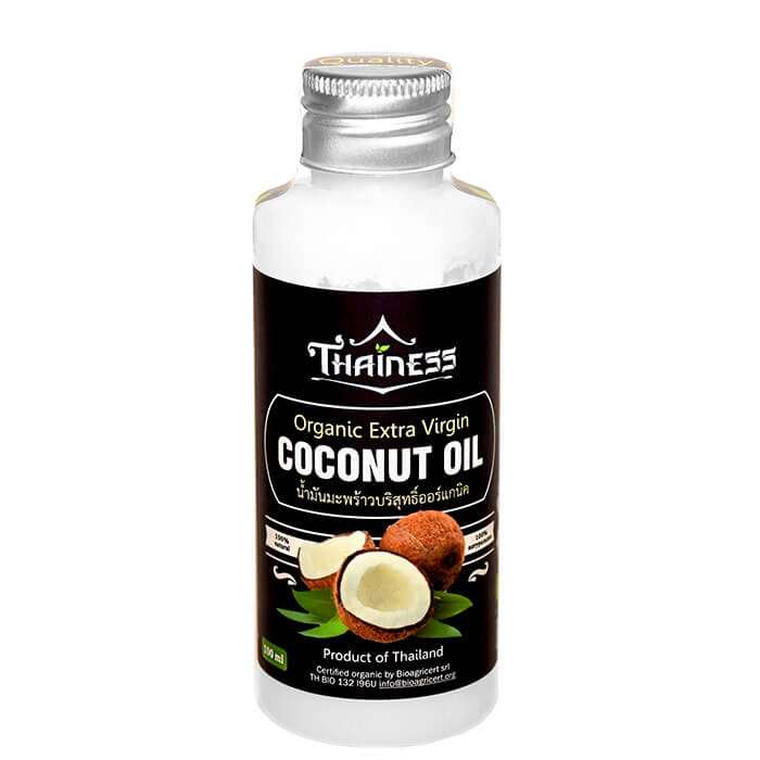 Кокосовое масло Thainess Organic Extra Virgin Coconut Oil (100 мл)