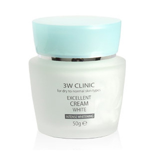 Крем для лица 3W Clinic Excellent White Cream