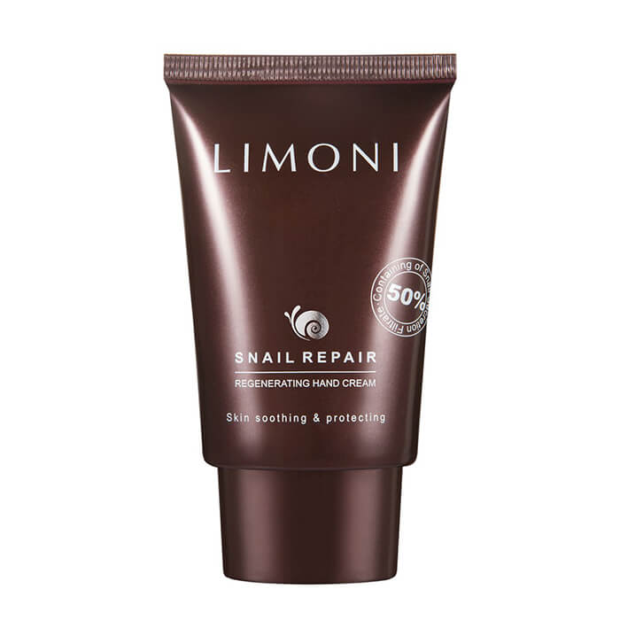 Крем для рук Limoni Snail Repair Regenerating Hand Cream