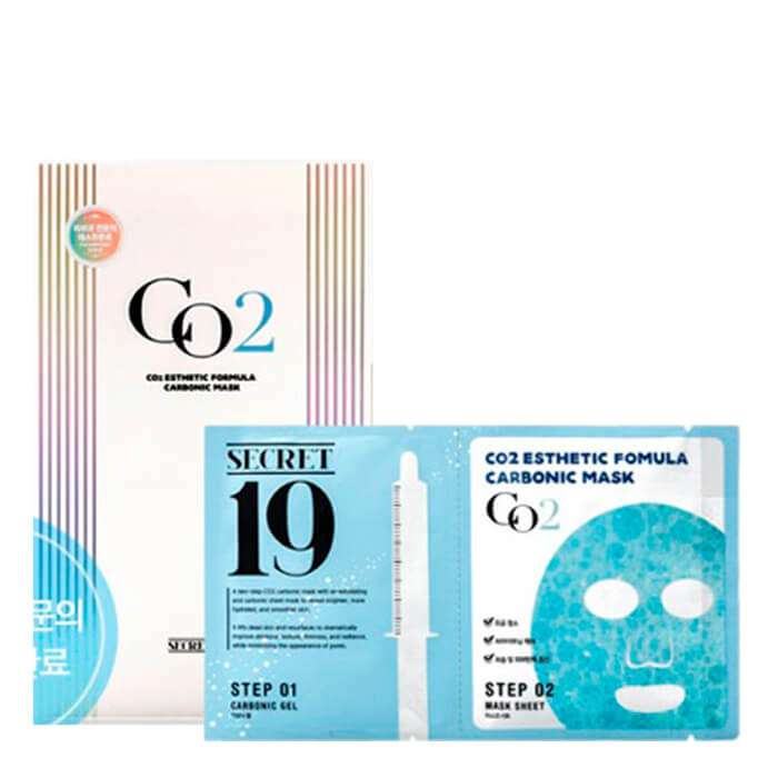 Маска для карбокситерапии Esthetic House CO2 Esthetic Formular Carboxy Mask Sheet