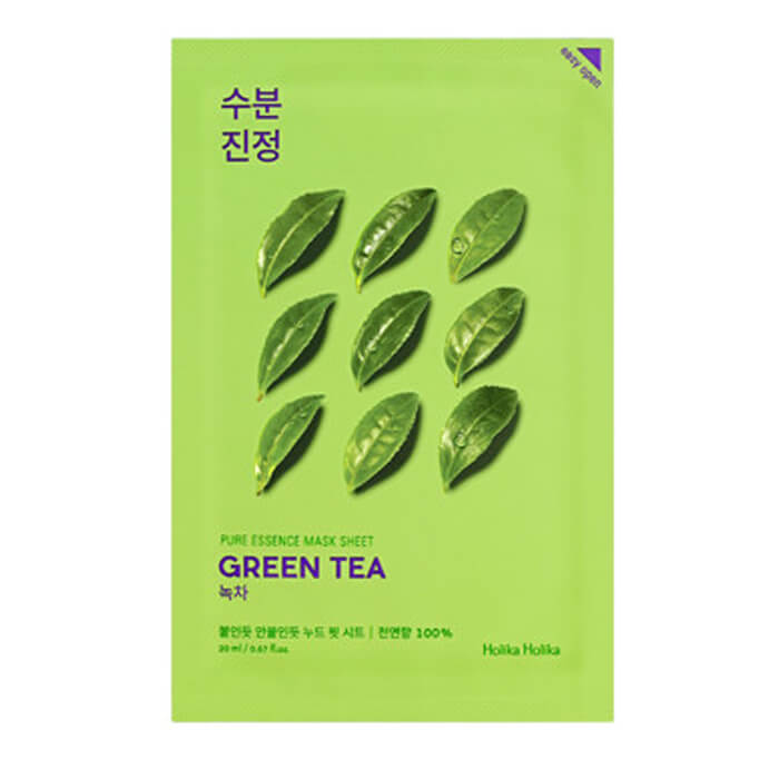 Маска для лица Holika Holika Pure Essence Mask Sheet - Green Tea