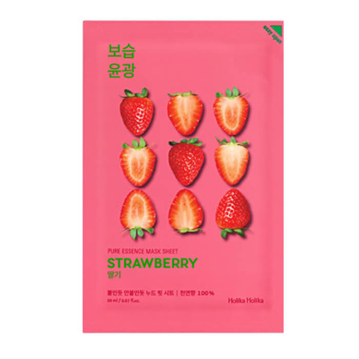 Маска для лица Holika Holika Pure Essence Mask Sheet - Strawberry