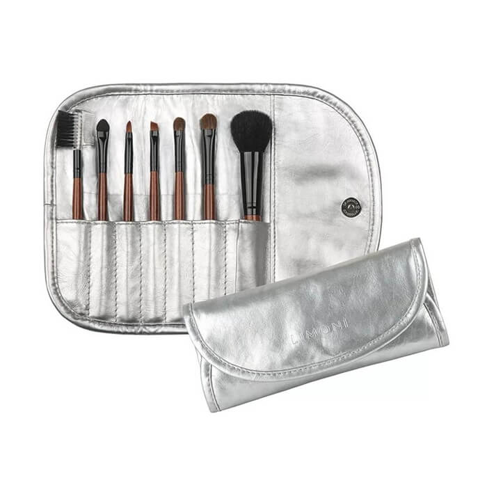 Набор кистей Limoni Silver Travel Kit