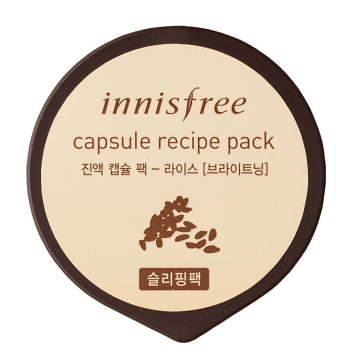 Ночная маска Innisfree Capsule Recipe Pack - Rice