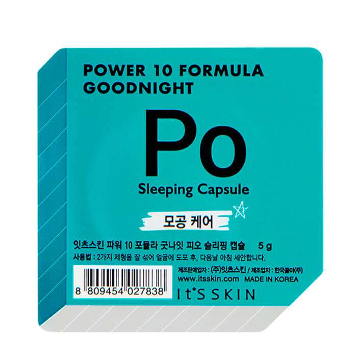 Ночная маска-капсула It's Skin Power 10 Formula Goodnight Po Sleeping Capsule