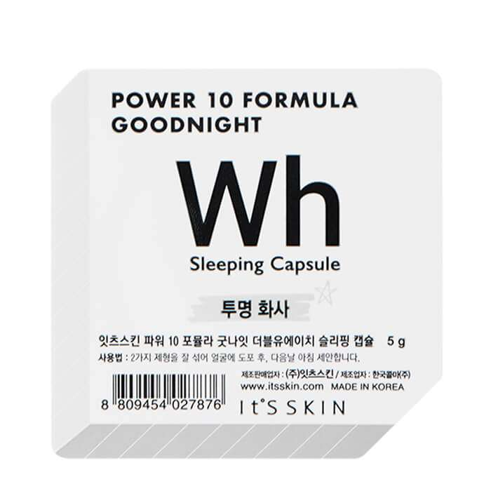 Ночная маска-капсула It's Skin Power 10 Formula Goodnight Wh Sleeping Capsule