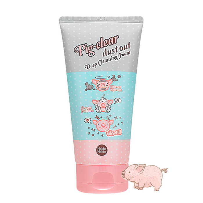 Очищающая пенка Holika Holika Pig-Clear Dust Out Deep Cleansing Foam