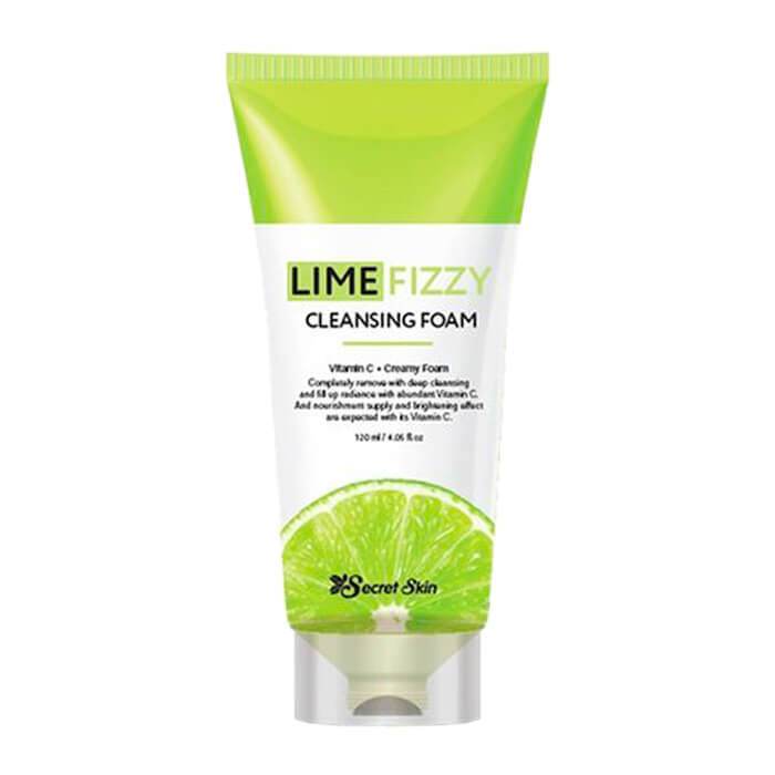 Очищающая пенка Secret Skin Lime Fizzy Cleansing Foam