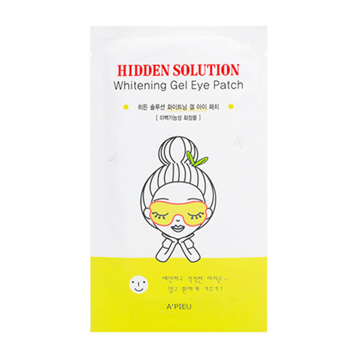 Патчи для глаз A'Pieu Hidden Solution Whitening Gel Eye Patch