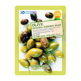 3D Маска для лица FoodaHolic Olive Natural Essence 3D Mask