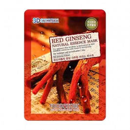 3D Маска для лица FoodaHolic Red Ginseng Natural Essence 3D Mask