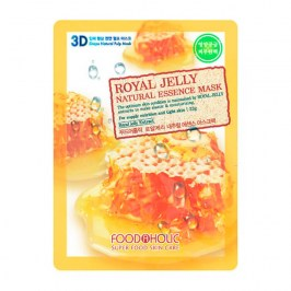 3D Маска для лица FoodaHolic Royal Jelly Essence 3D Mask