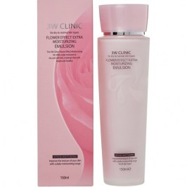 Эмульсия для лица 3W Clinic Flower Effect Extra Moisture Emulsion