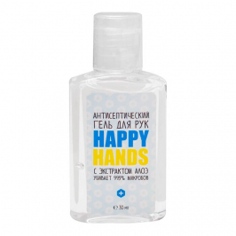Гель для рук Happy Hands - Aloe