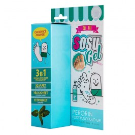 Гель-скатка для ног SOSU Perorin Foot Polopolo Mint Gel