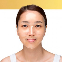 Гидрогелевая маска Petitfee Gold & Snail Hydrogel Mask Pack