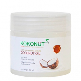 Кокосовое масло Kokonut Extra Premium Virgin Coconut Oil 100% (200 г)