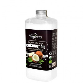 Кокосовое масло Thainess Organic Extra Virgin Coconut Oil (1000 мл)