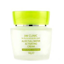 Крем для лица 3W Clinic Aloe Full Water Activating Cream