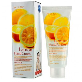 Крем для рук 3W Clinic Lemon Hand Cream