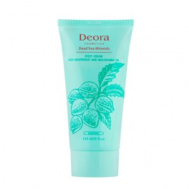 Крем для ног Deora Body Foot Cream Macadamia Oil & Horse Chestnut