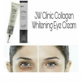 Крем для век 3W Clinic Collagen Whitening Eye Cream