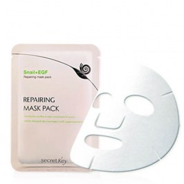 Маска для лица Secret Key Snail + EGF Repairing Mask Pack