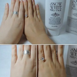 Маска для лица Secret Key Snow White Milky Pack