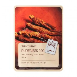 Тканевая маска Tony Moly Pureness 100 Red Ginseng Mask Sheet