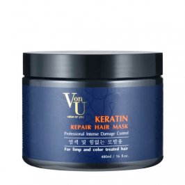 Маска для волос Von U Keratin Repair Hair Mask