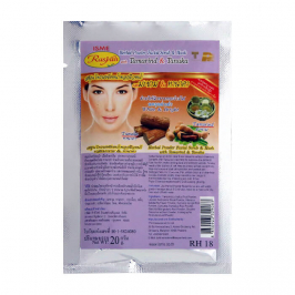 Маска-скраб для лица Rasyan Herbal Powder Facial Scrub & Mask with Tamarind & Tanaka