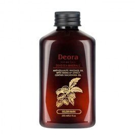 Масло массажное Deora Anti-Cellulite Massage Oil With Warm-Up Effect