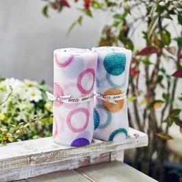 Мочалка для душа Sungbo Cleamy Circle Shower Towel