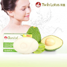 Мыло Twin Lotus Herbal Soap Aloe Vera & Avocado