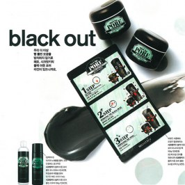 Набор от чёрных точек Secret Key Black Out Pore 3-Step Nose Pack