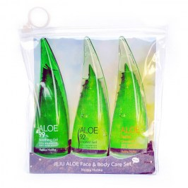 Набор с алоэ Holika Holika Jeju Aloe Face & Body Care Set