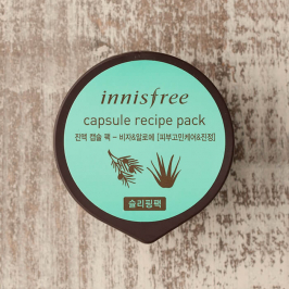 Ночная маска Innisfree Capsule Recipe Pack - Bija & Aloe