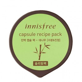 Ночная маска Innisfree Capsule Recipe Sleeping Pack - Bamboo