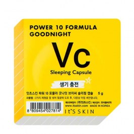 Ночная маска-капсула It's Skin Power 10 Formula Goodnight Vc Sleeping Capsule