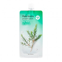Ночная маска Missha Pure Source Pocket Pack  - Tea Tree