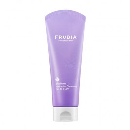 Очищающая пенка Frudia Blueberry Hydrating Cleansing Gel to Foam