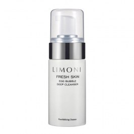 Очищающая пенка Limoni Fresh Skin Egg Bubble Deep Cleanser