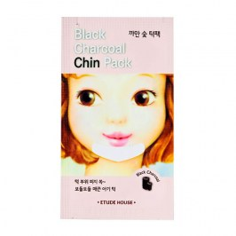 Патч для подбородка Etude House Black Charcoal Chin Pack