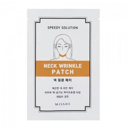 Патч для шеи Missha Speedy Solution Neck Wrinkle Patch