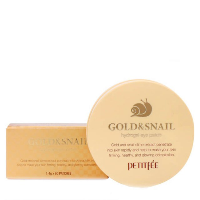 Патчи для глаз Petitfee Gold & Snail Hydrogel Eye Patch