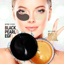 Патчи для век AOMI Black Pearl-EGF Hydrogel Eye Patch