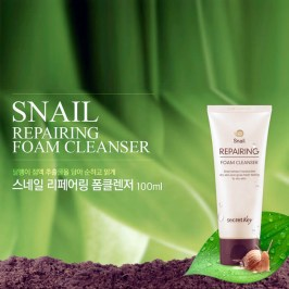 Пенка для умывания Secret Key Snail Repairing Foam Cleanser