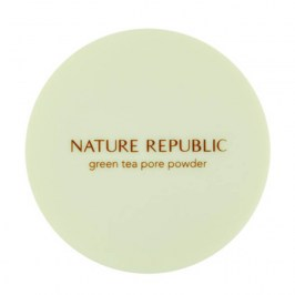 Рассыпчатая пудра Nature Republic Botanical Green Tea Pore Powder