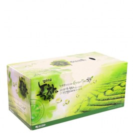 Салфетки для лица Monalisa Bellagio Green Tea Facial Tissue 210 шт